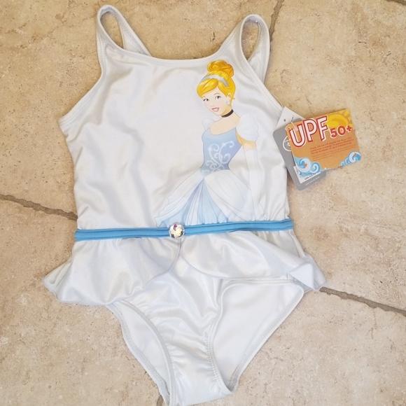 11444af2df Disney Cinderella Swimsuit size 5 6
